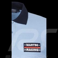 Polo-Shirt Herren Martini Racing hellblau