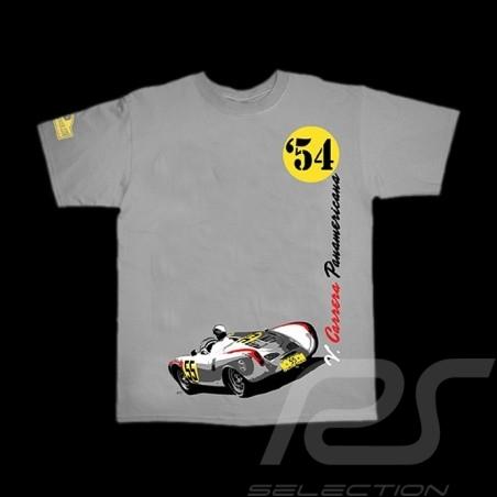 T-Shirt Herren V. Carrera Panamericana 1954 grau