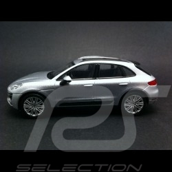 Porsche Macan Turbo gris 1/43 Welly MAP01995051