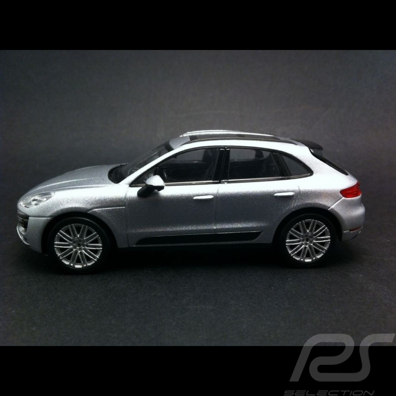 Porsche Macan Turbo grau 1/43 Welly MAP01995051