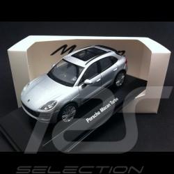Porsche Macan Turbo gris 1/43 Welly MAP01995051