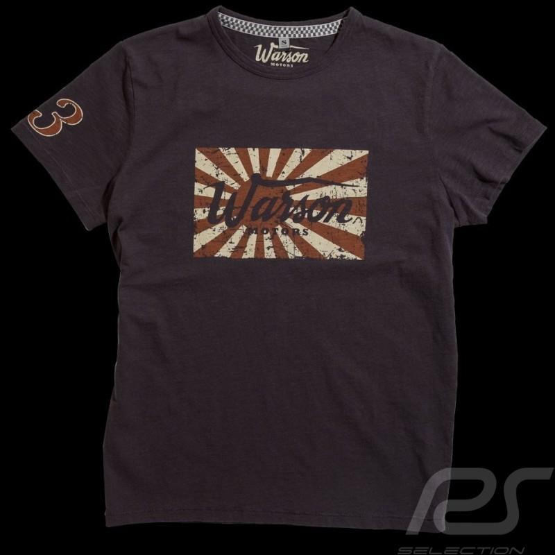 T shirt Kamikaze Racing gris homme