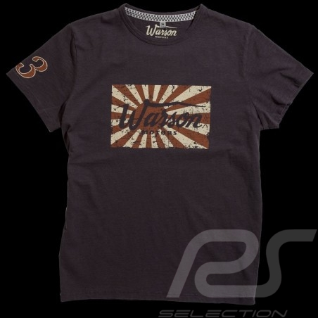 Herren T-shirt Kamikaze Carbon grau