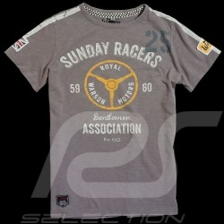 Tee-shirt homme Sunday Racers gris