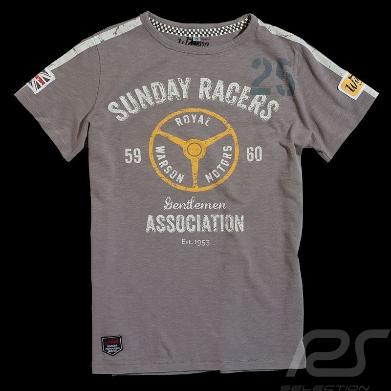 T-shirt Sunday Racers grey - Men