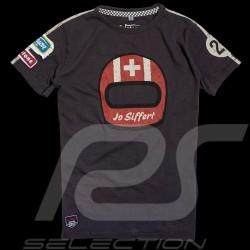 Herren T-shirt Jo Siffert 917 Carbon grau