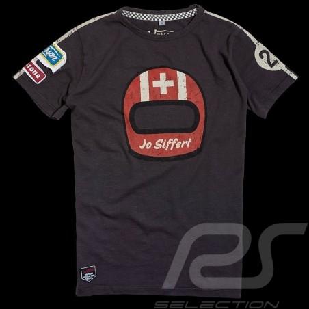 T-shirt Jo Siffert 917 Carbone gris homme men herren