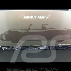 Porsche 918 Spyder 2013 blau 1/18 Minichamps 110062432