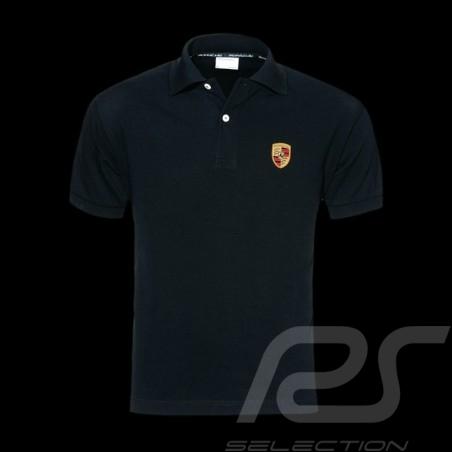 Porsche Polo shirt crest black Porsche WAP592B - men