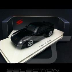 Porsche 911 993 Turbo noire 1995 1/43 Spark S4476