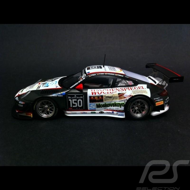 Porsche 911 997 GT3 R Spa 2014 n° 150 1/43 Spark SB101