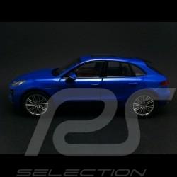Porsche Macan Turbo bleu 1/24 Welly MAP02495015
