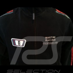 Sweatjacke Herren Martini Racing marineblau Porsche Design WAP555