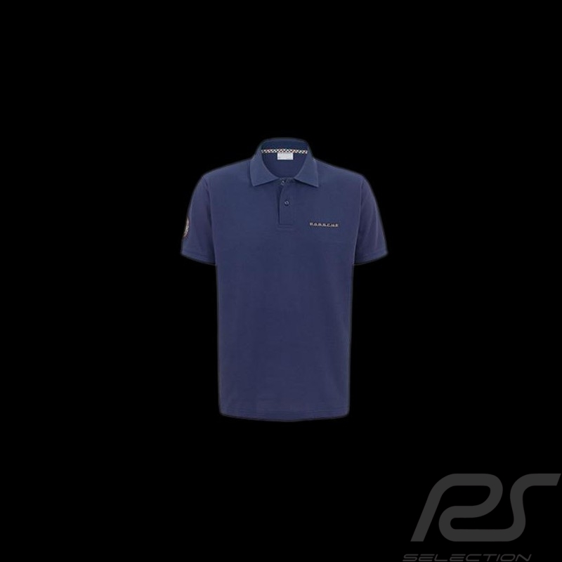 herren polo shirt porsche classic blau porsche design. Black Bedroom Furniture Sets. Home Design Ideas