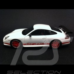 Porsche 996 GT3 RS weiß / rot 1/43 Spark S4473