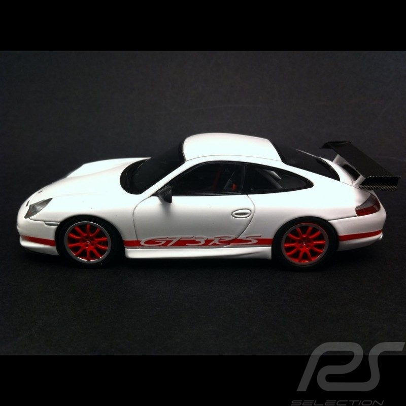 Porsche 911 Gt3 Rs Type 996 White Red 1 43 Spark S4473 Selection Rs