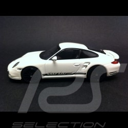 Porsche 997 Turbo S blanche 1/43 Minichamps PD04311025