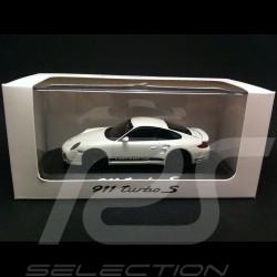 Porsche 997 Turbo S weiß 1/43 Minichamps PD04311025
