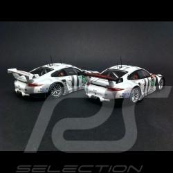 Duo Porsche 911 GT3 RSR n° 91 et n° 92 Le Mans 2015 1/43  Spark MAP02087615 et MAP02087715