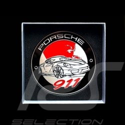 Badge de grille 911 Porsche Design WAP0500110G