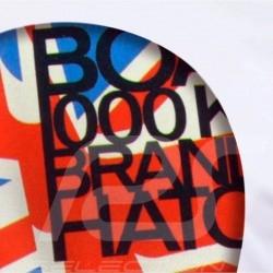 T-Shirt Herren Pilot Helm Brands Hatch weiß