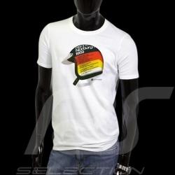 T-Shirt Pilot Helm Nürburgring 1969 weiß - Herren