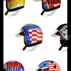 T-Shirt casque pilote pilot helmet Pilot Helm homme men herren