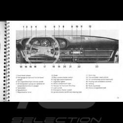 Wiedergabe der 911 T 1972 Broschüre 4628.20