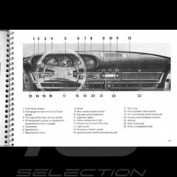 Porsche 911 T-E-S 1973 Brochure reproduction 4644.20