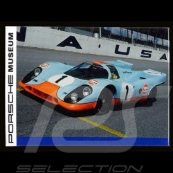 Plaque aimantée Porsche 917 Gulf Daytona magnet MAP01540415