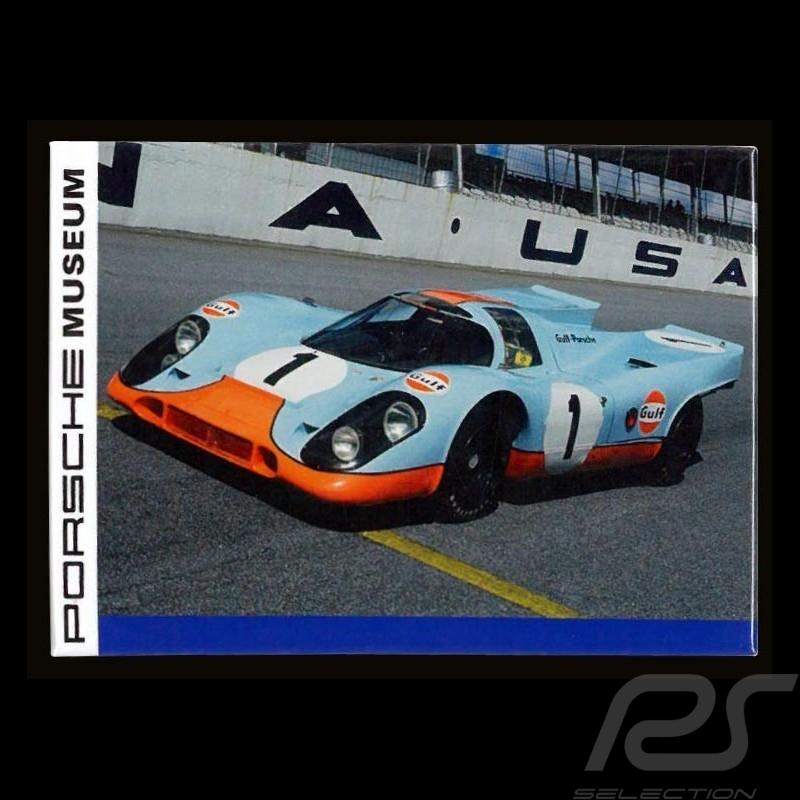 Plaque aimantée Porsche 917 Gulf Daytona magnet MAP01540415