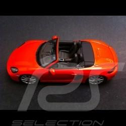 Porsche 718 Boxster S lava orange 2016 1/43 Spark WAP0202050G