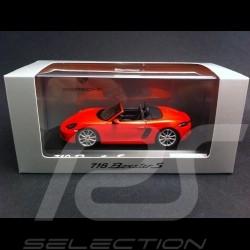 Porsche 718 Boxster S orange fusion 2016 1/43 Spark WAP0202050G