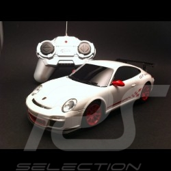 Porsche 997 GT3 RS II blanche radiocommandée 27MHz 1/24