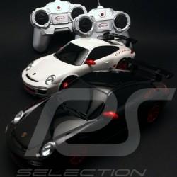Duo Porsche 997 GT3 RS II blanche / grise radiocommandée 27 / 40 MHz 1/24