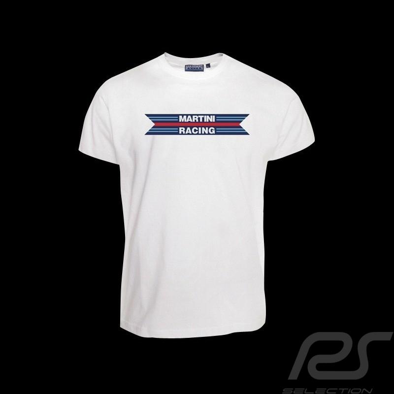 T-Shirt Herren Martini Racing 1976 original weiß