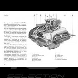 Reproduktion Broschüre Porsche 914 1.7 / 2.0 1973