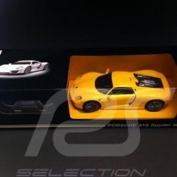 Porsche 918 spyder gelb RC-Fahrzeug 27MHz 1/24
