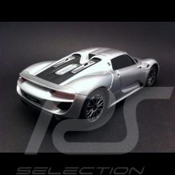Porsche 918 Spyder silver RC-Fahrzeug 40MHz 1/24