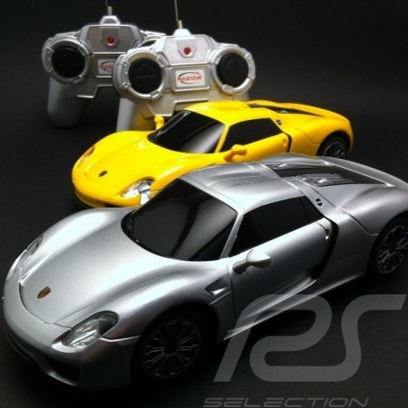 Duo Porsche 918 Spyder gelb / grau RC-Fahrzeug 27MHz / 40Mhz 1/24