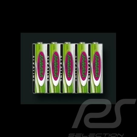 Pack de 5 piles AA 1.5V Alkaline Alkaline batteries Alkaline Batterien