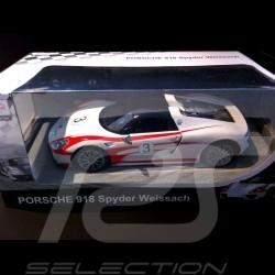 Porsche 918 Spyder Weissach weiß RC-Fahrzeug 27MHz 1/14
