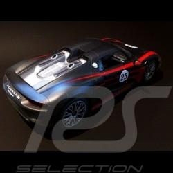 Porsche 918 Spyder Weissach schwartz RC-Fahrzeug 40MHz 1/14