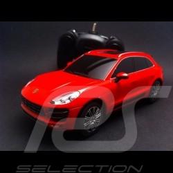 Porsche Macan Turbo rouge radiocommandée 40MHz 1/24