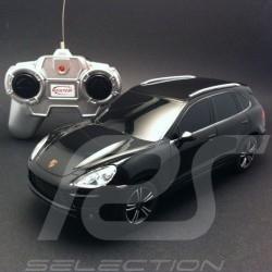 Porsche Cayenne Turbo II noire radiocommandée 27MHz 1/24