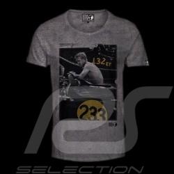 T-shirt Steve McQueen Race 233 grey - Men