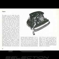 Reproduktion Broschüre Porsche 911 T USA 1972