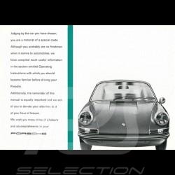 Reproduktion Broschüre Porsche 911 E 1972