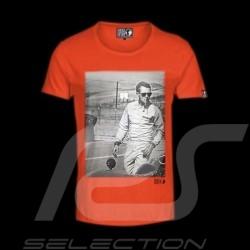 Men's T-shirt Steve McQueen orange