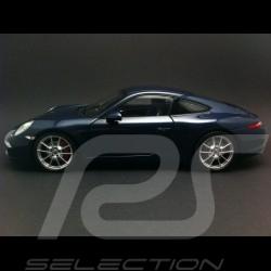 Porsche 991 Carrera S bleu 1/18 Minichamps WAP0210200C